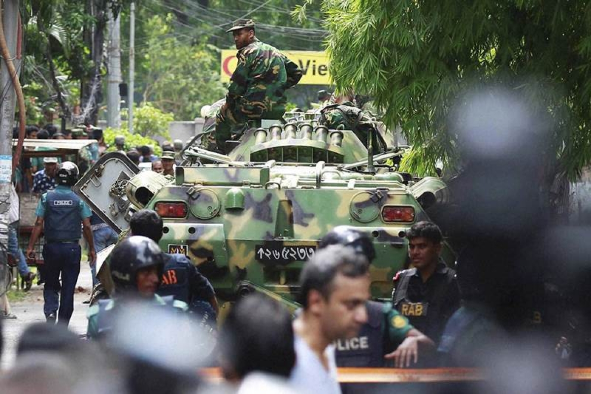 Woman held over Dhaka terror attack
