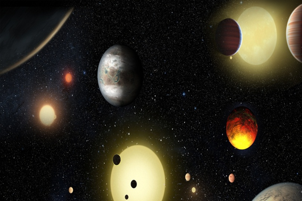 Two Earth-like exoplanets may harbour life, shows Hubble data