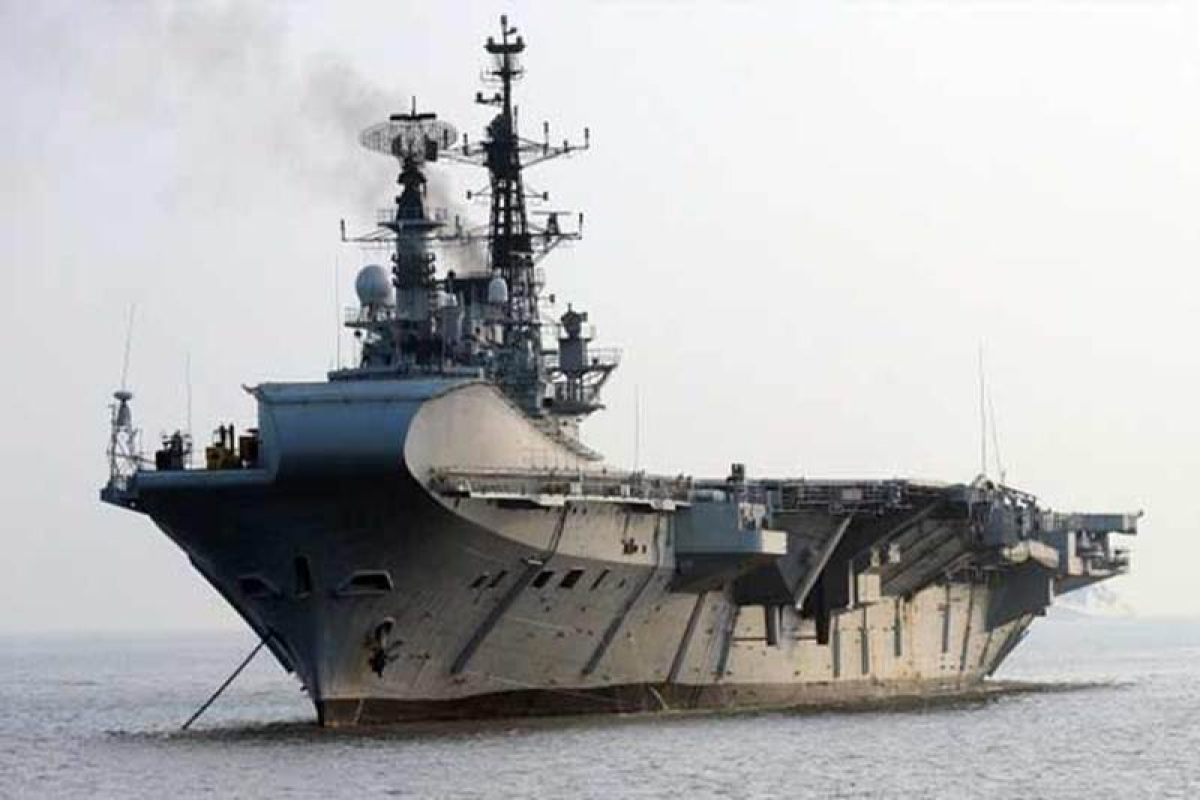 India's majestic aircraft carrier INS Viraat's swansong voyage to Kochi