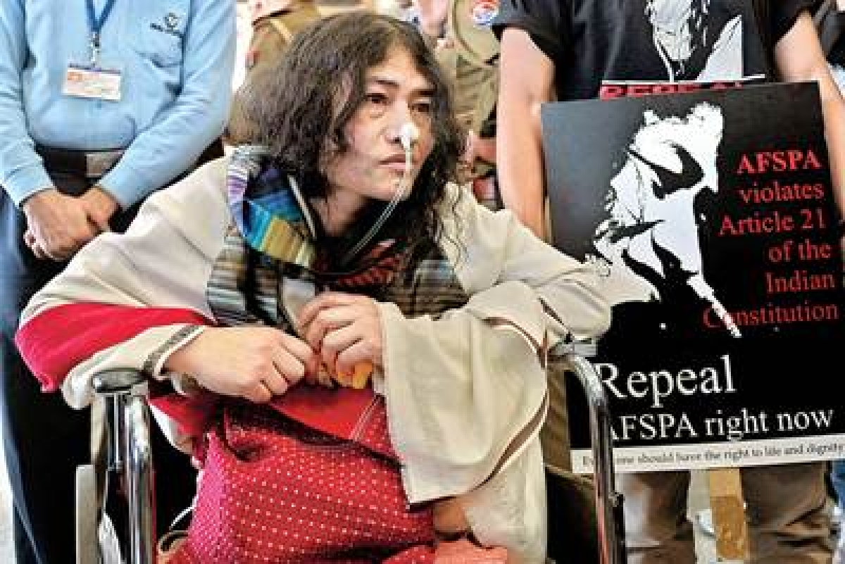 Manipur's Irom Sharmila to break her fast and contest elections