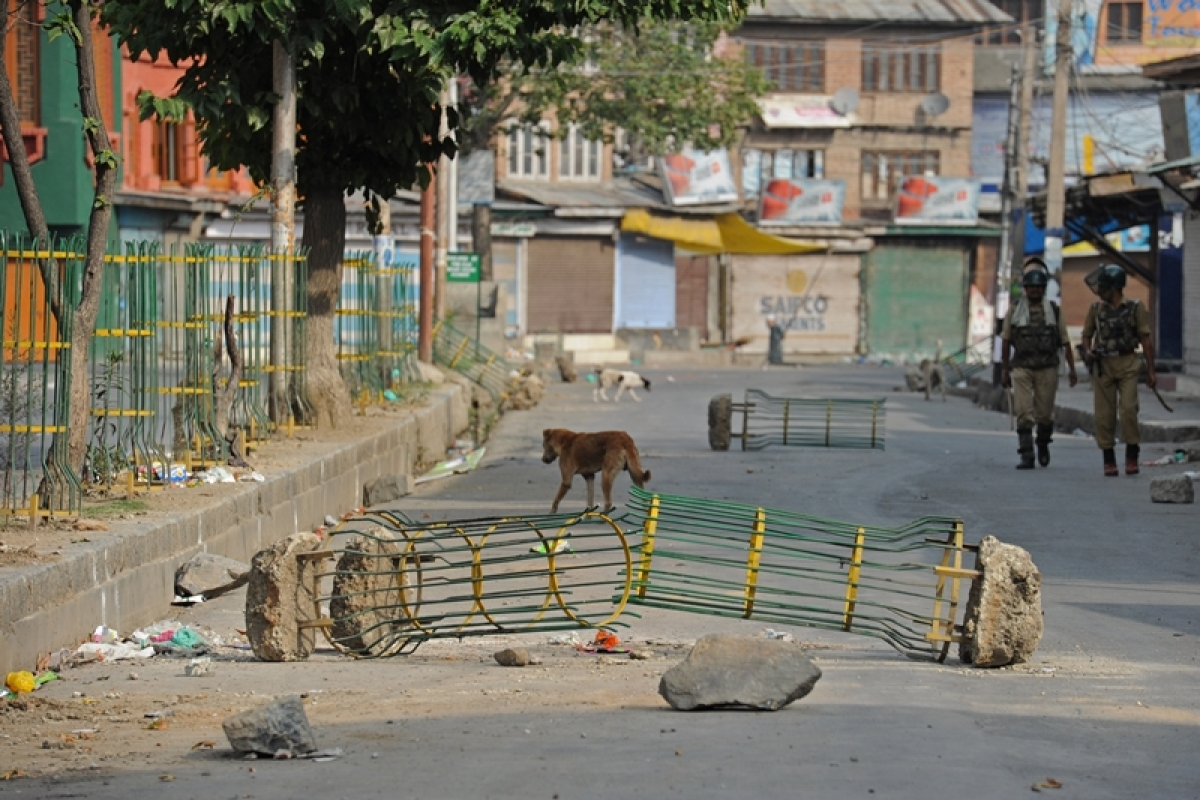 Restrictions imposed in parts of Srinagar, schools, colleges to remain closed today