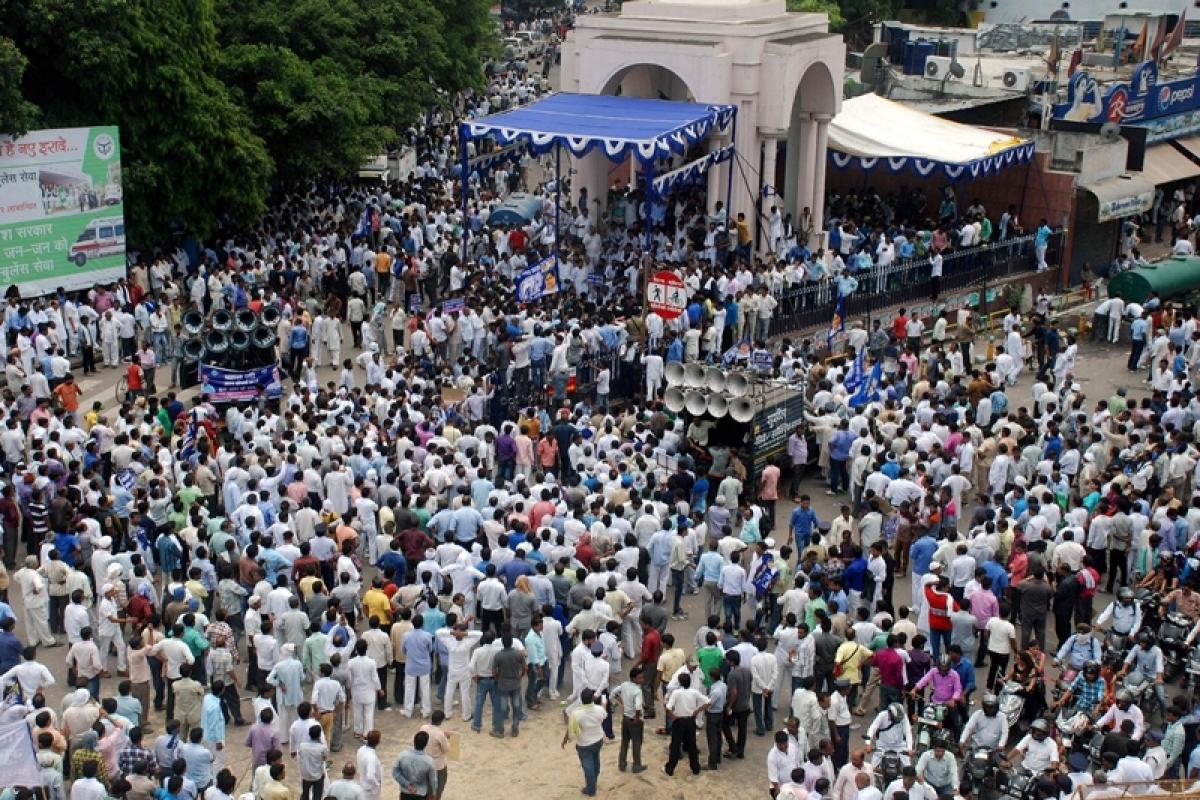 "Dalits across India see me as ""devi"": Mayawati"