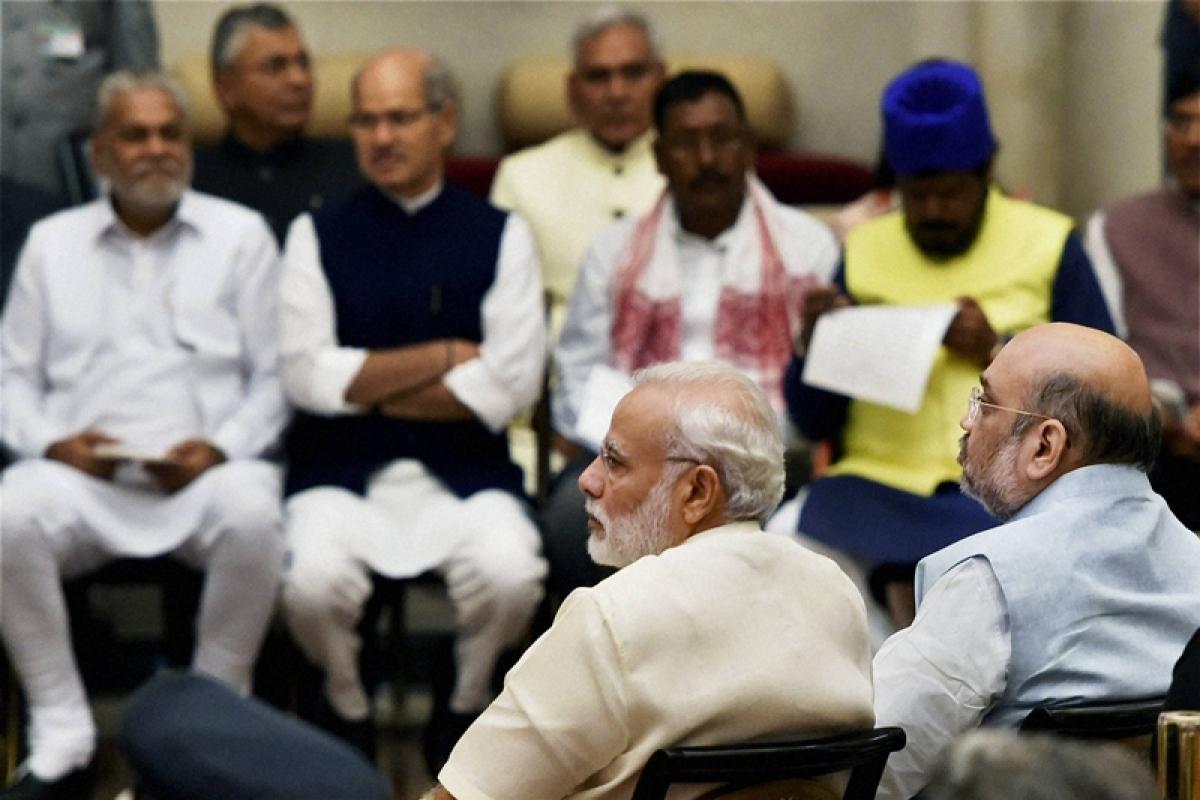 Choosing CMs: BJP emulates Congress
