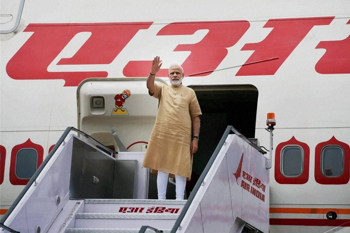PM Modi reaches Mozambique on first leg of his four-nation tour