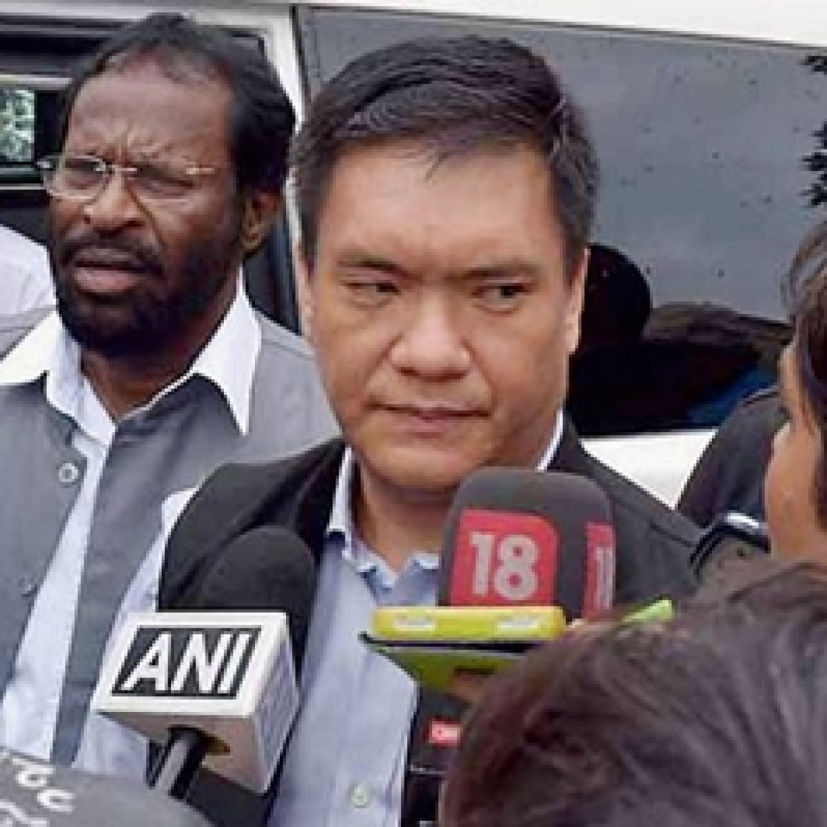 Arunachal CM Pema Khandu reviews all railway projects in the state