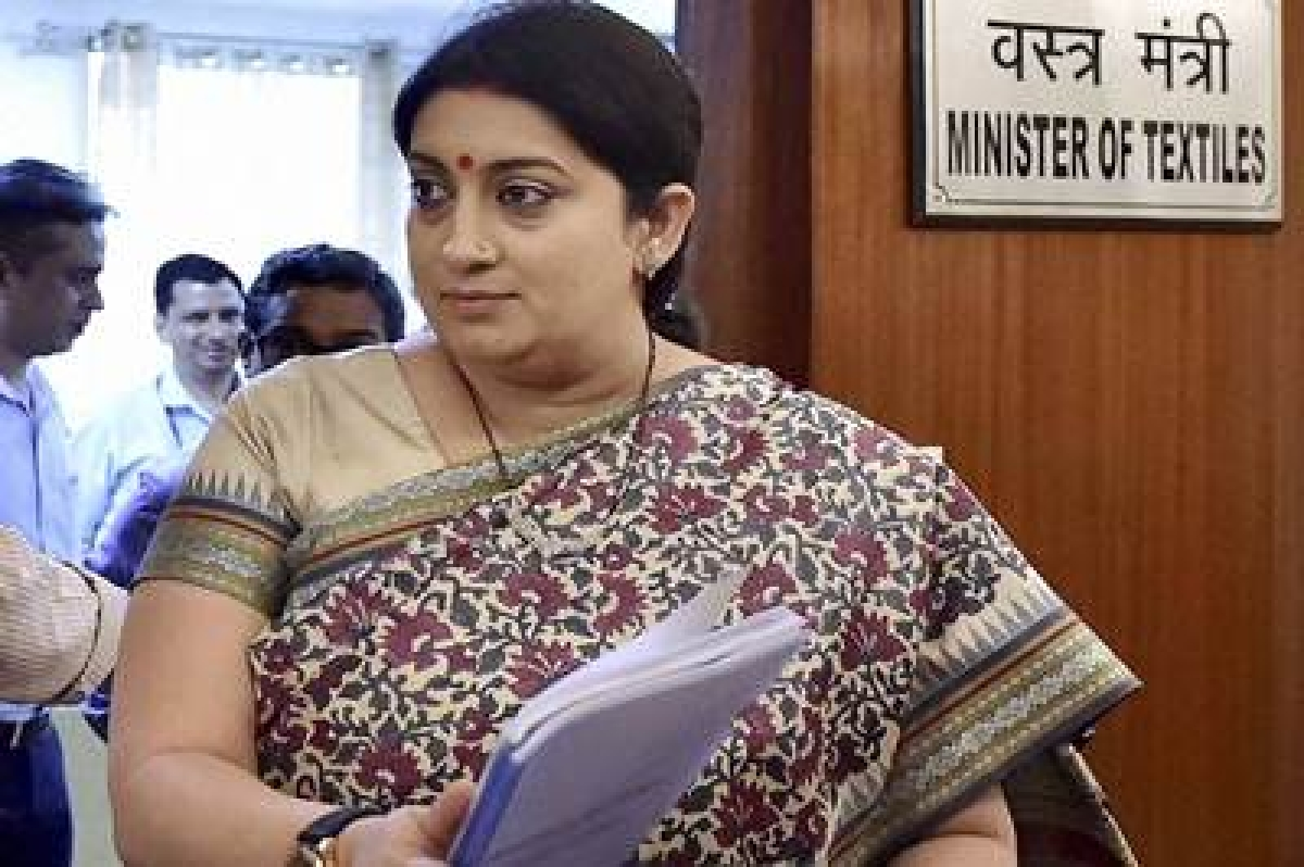 Cabinet Committee on Par'l Affairs rejigged; Smriti dropped