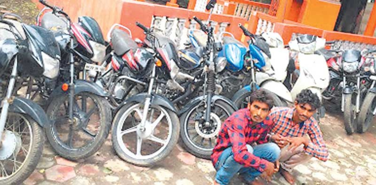 Stolen bikes worth Rs 5 Lakh seized, four arrested