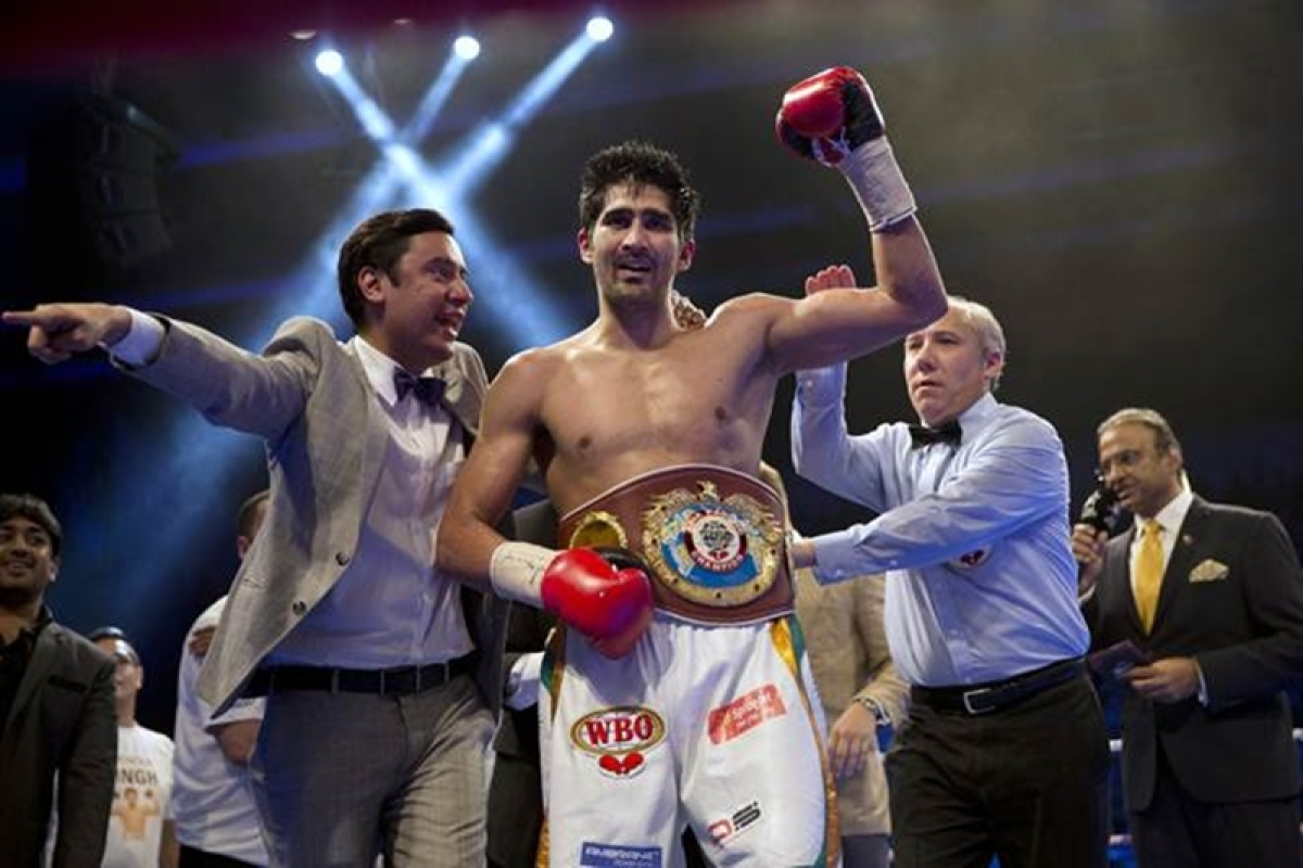 Sporting fraternity congratulates Vijender Singh for Asia title