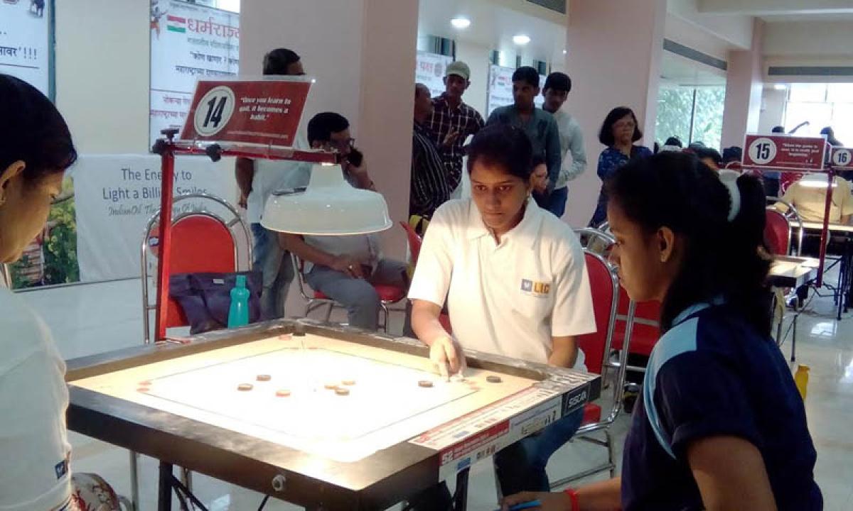 Palghar district carrom championship: Sharif Shaikh, Shruti Sonawane champion