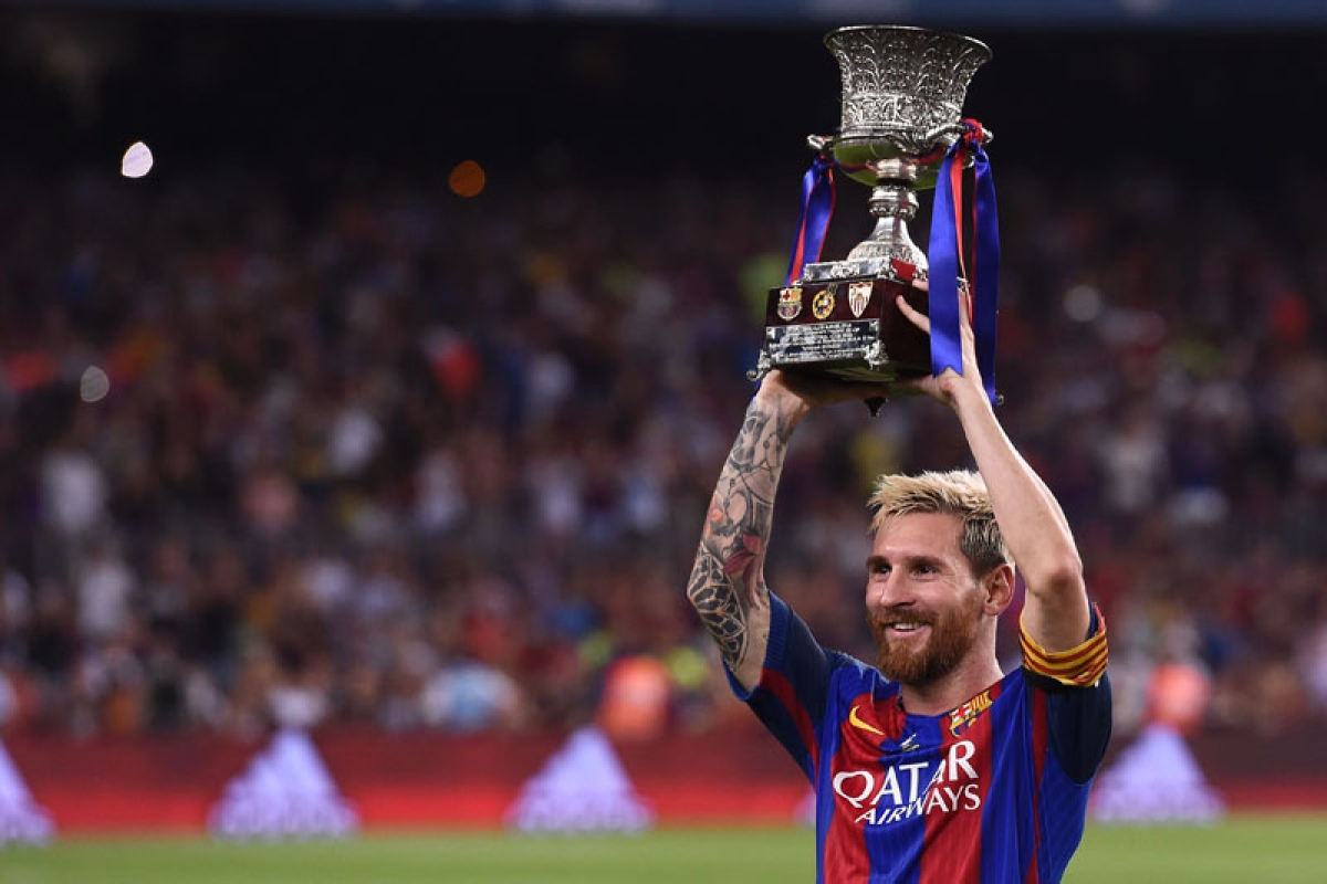 Barca claim Supercup