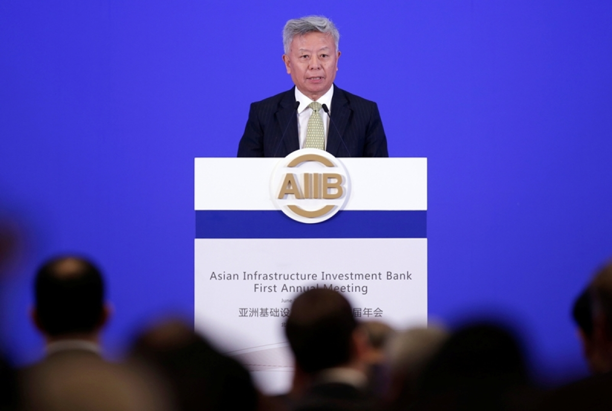 Asian Infrastructure Investment Bank (AIIB) president Jin Liqun attends the opening ceremony of the first annual meeting of AIIB in Beijing, China, June 25, 2016.