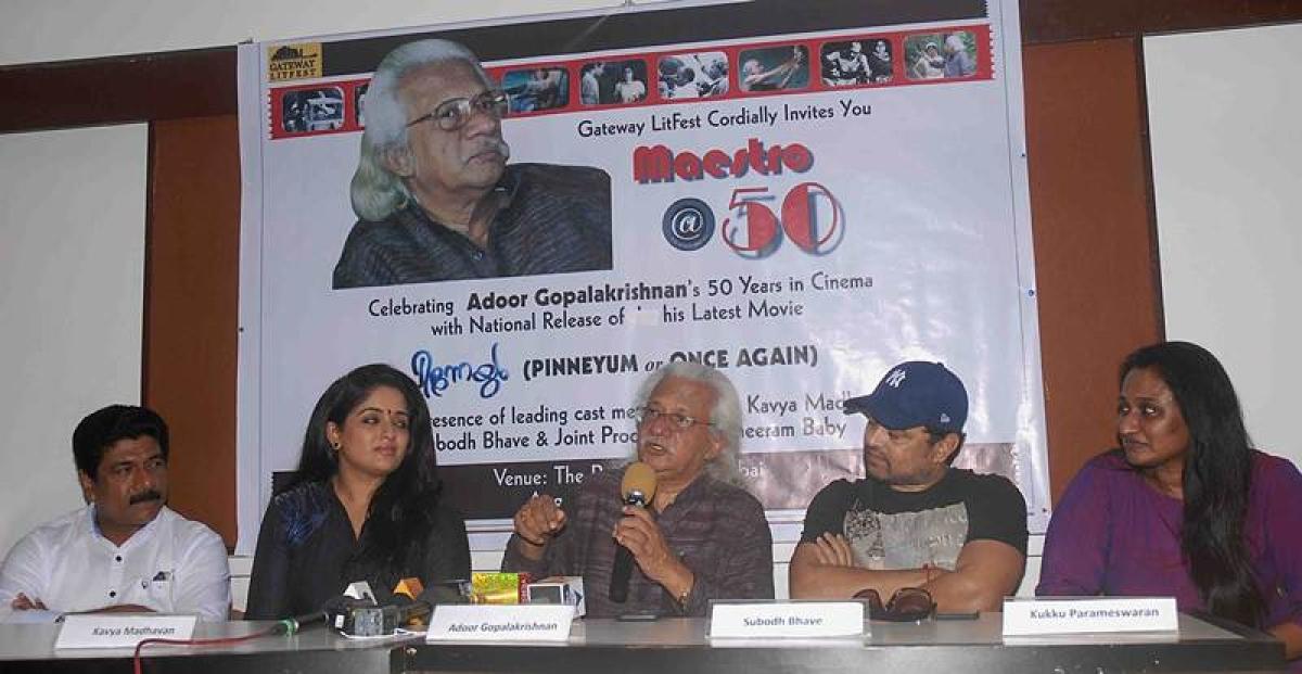 Adoor Gopalkrishnan Pinneyum (Again)