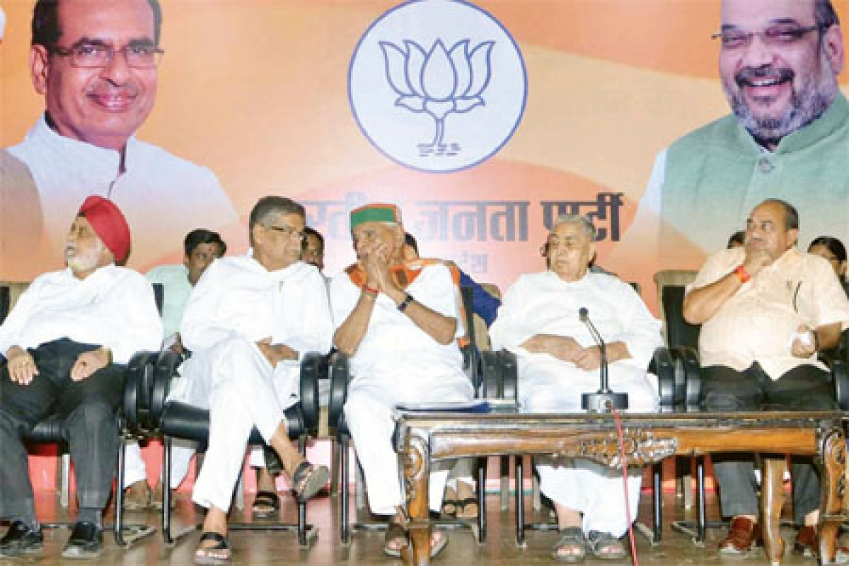 BJP doesn't let Gaur, Sartaj address meet