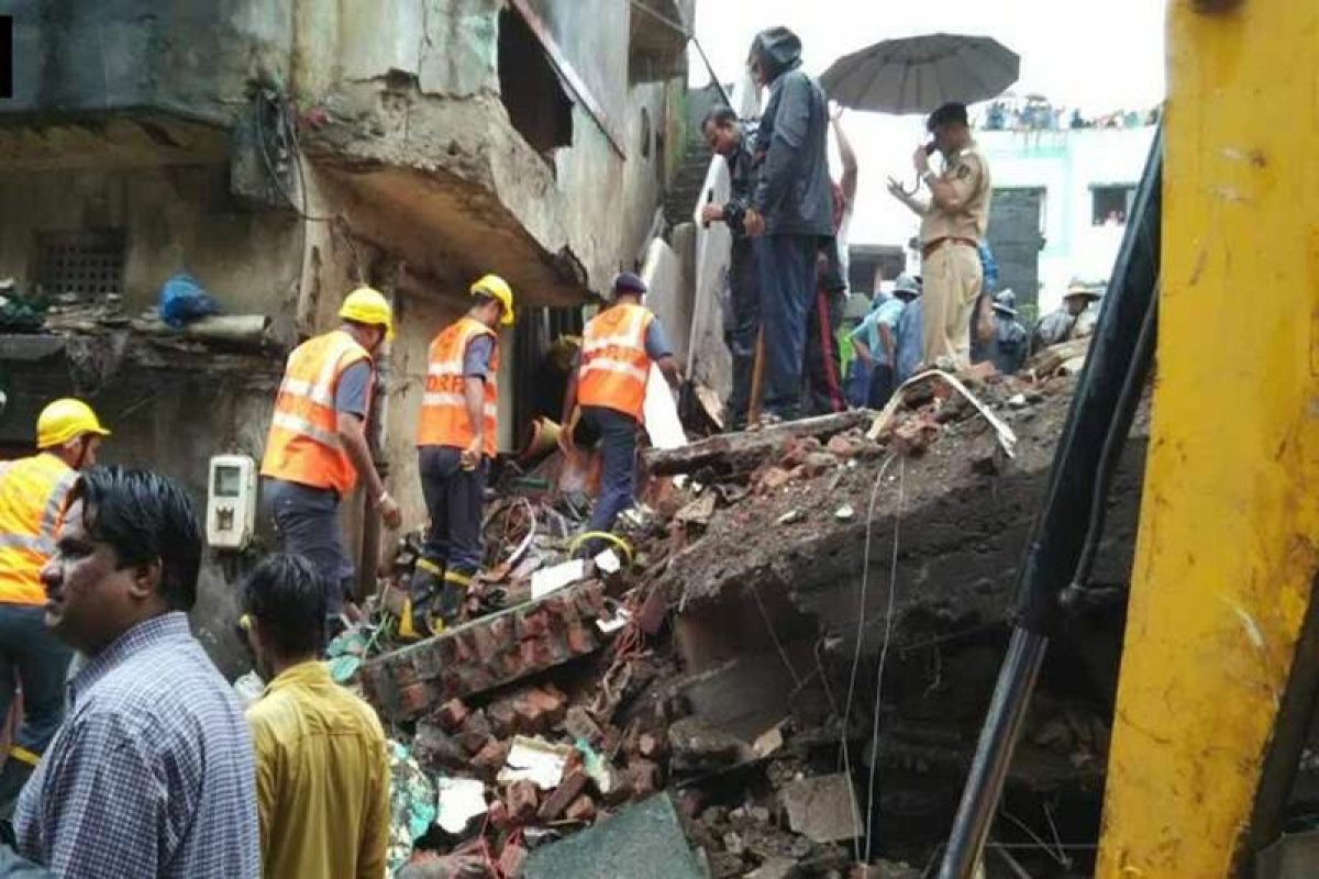 Building collapses in Bhiwandi; rescue operations underway