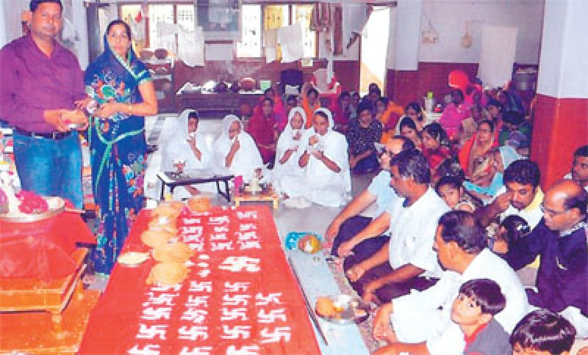 3-day birth anniv celebration of Sagranand Surishwar begins
