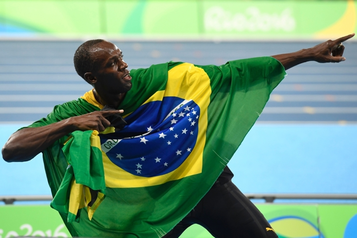 Usain Bolt wins gold in 4×100 relay, completes triple treble in Rio Olympics