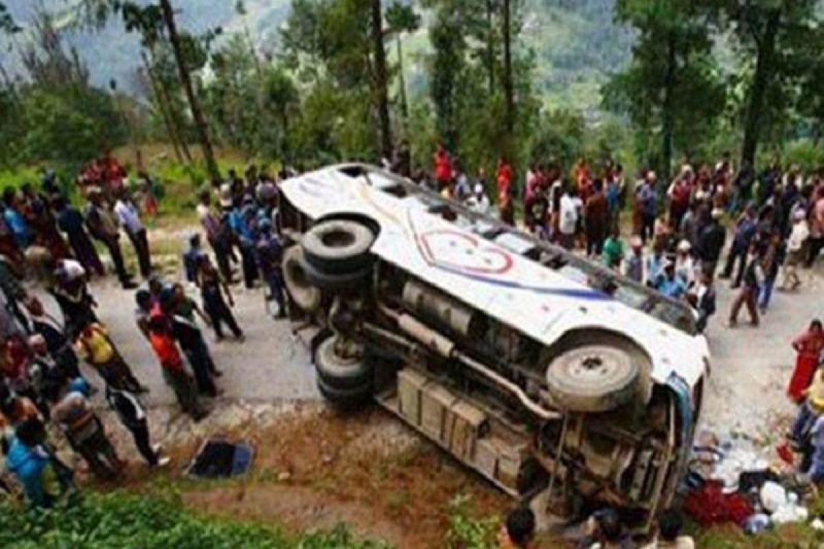 Five killed in separate accidents