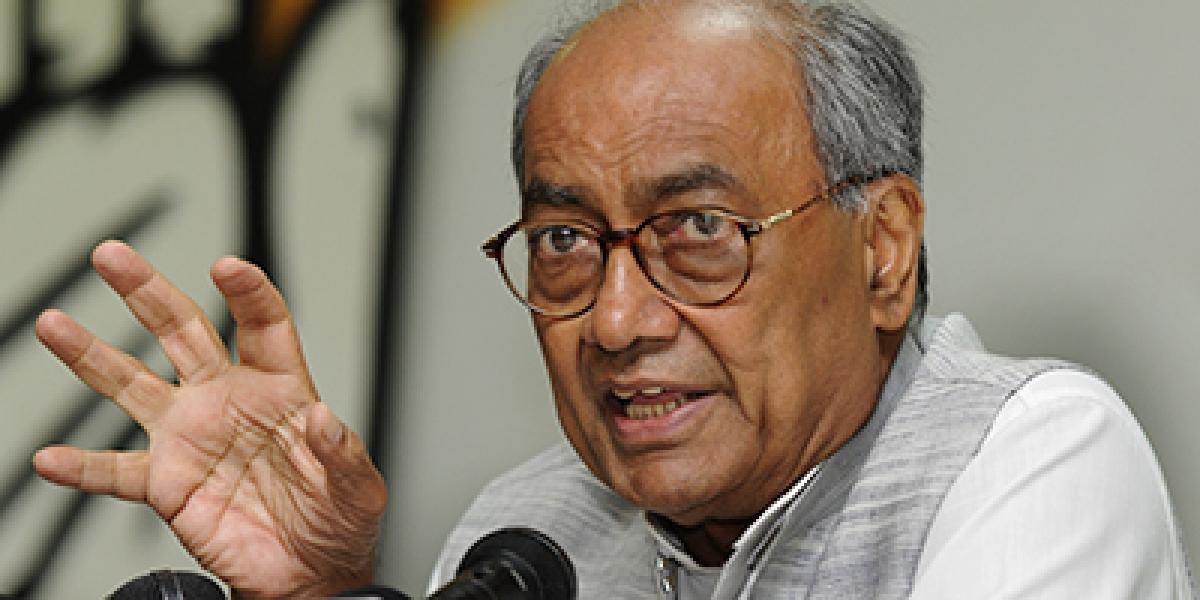 Gaffe: Diggi talks of 'India-occupied Kashmir'