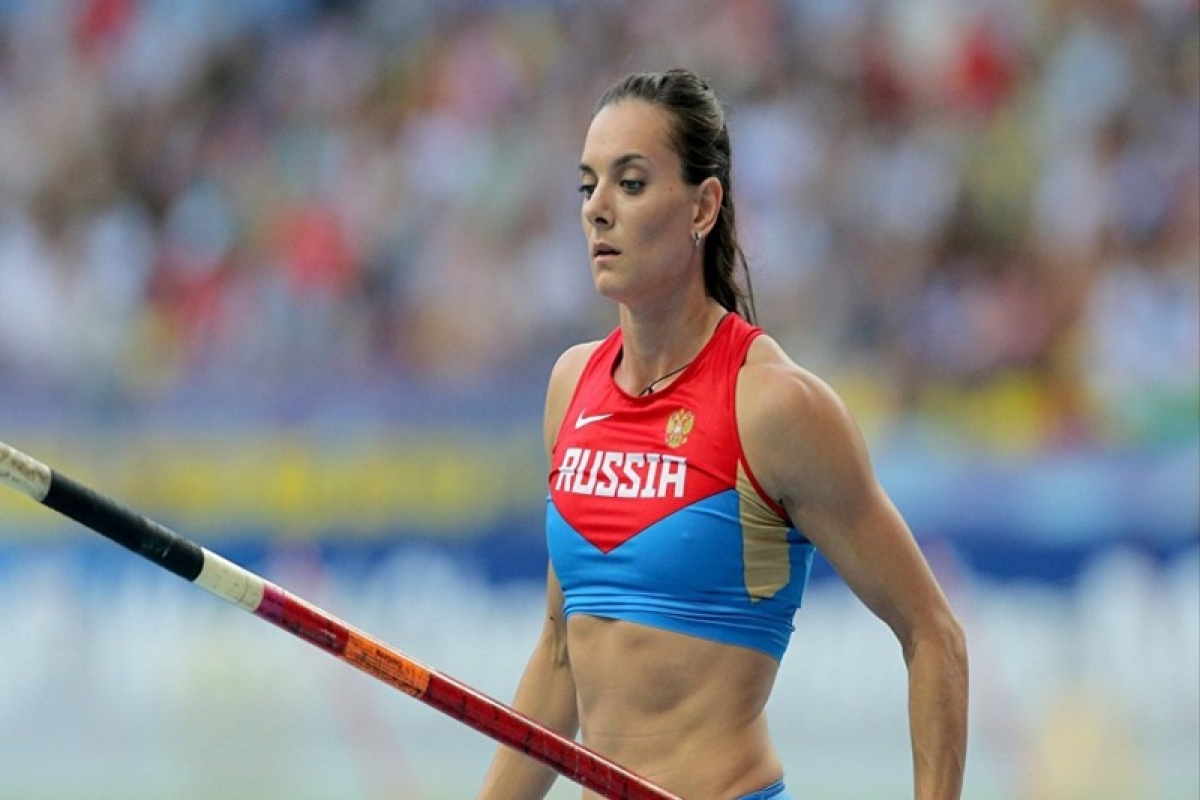 Isinbayeva claims discrimination by Olympic Officials