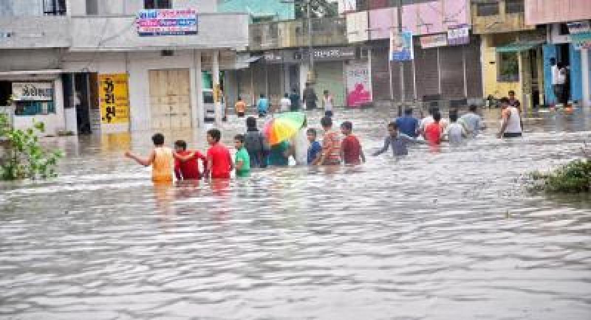 Heavy rains lash south Gujarat causing flash floods; 5 drown