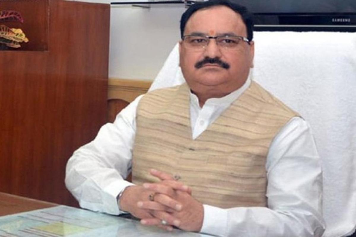 Rajya Sabha election: Union Minister of Health J P Nadda files nomination from Himachal Pradesh