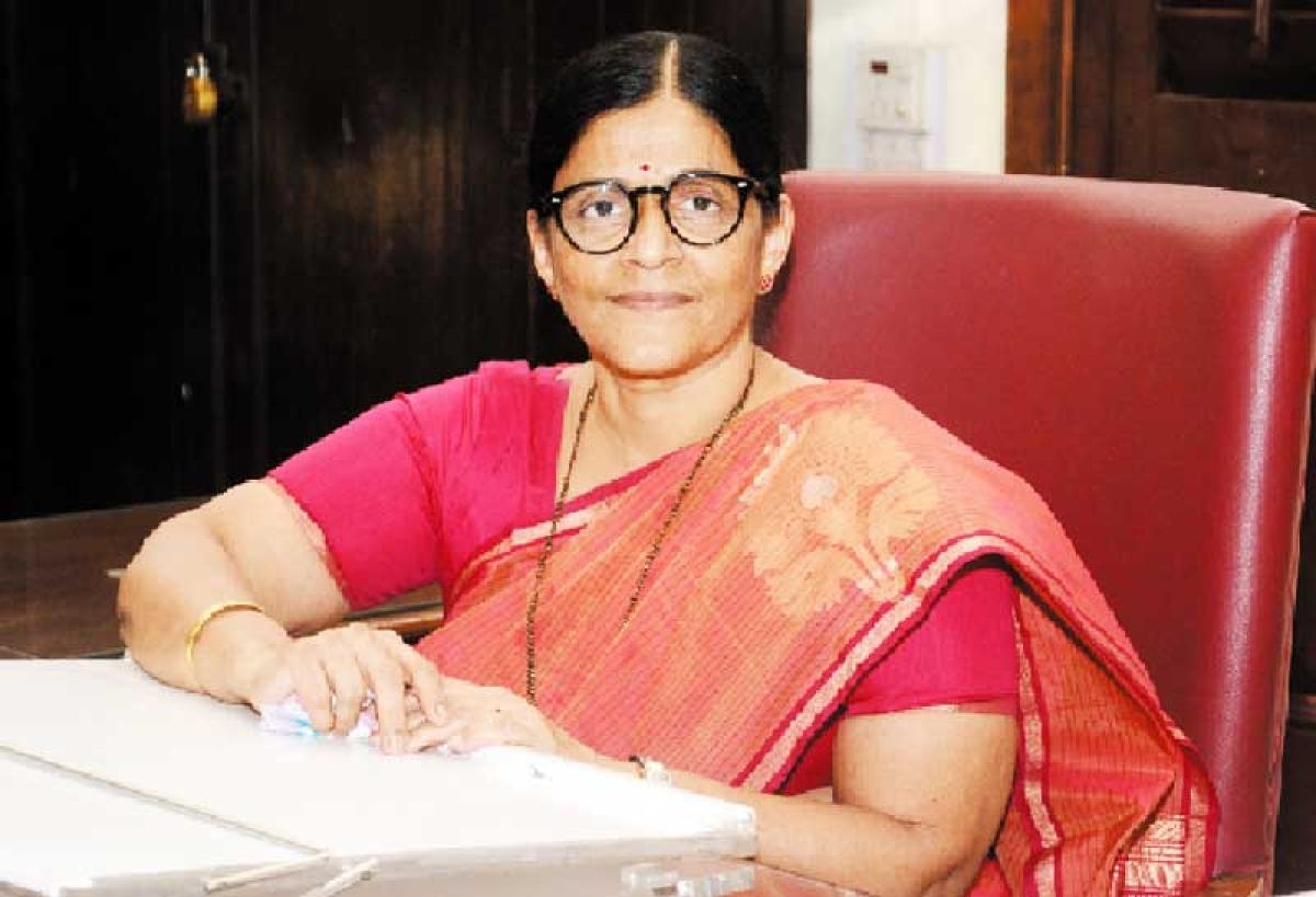 'Study always comes first…', says Dr. Madhuri Kagalkar, Elphinstone College Principal