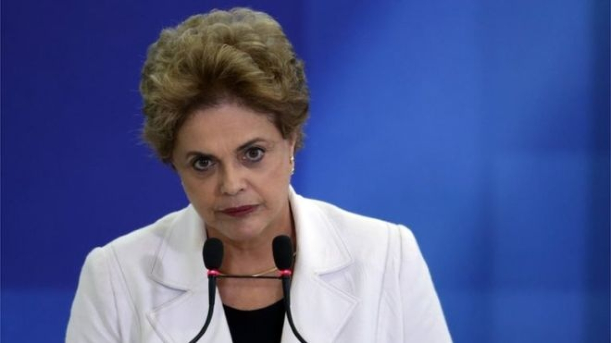 Brazil's Rousseff 'sad to miss' Rio Olympic Games party