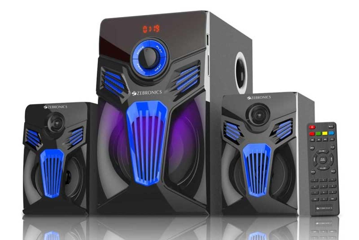 Zebronics unveils Fantasy Speakers