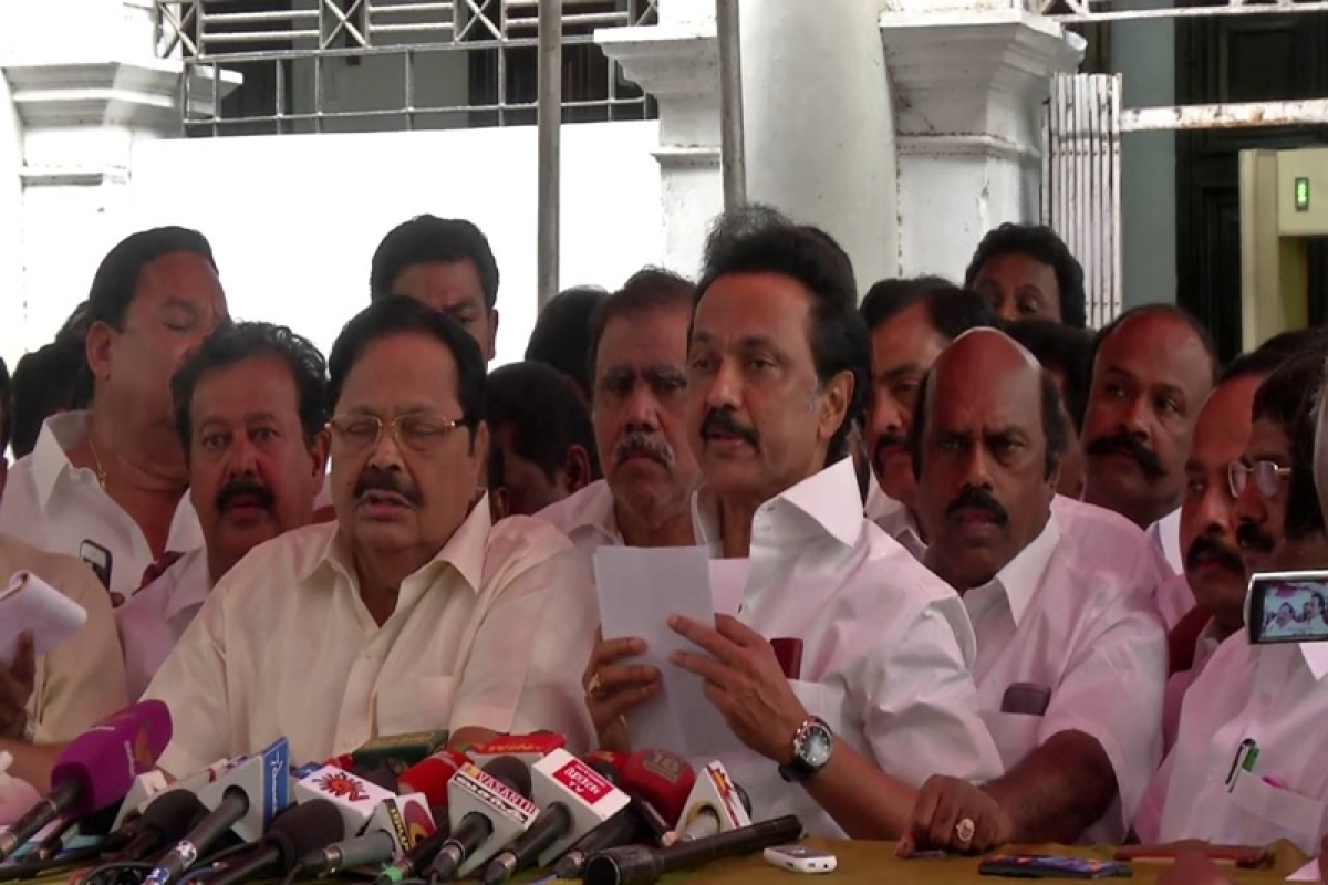 All DMK MLAs expelled from TN Assembly