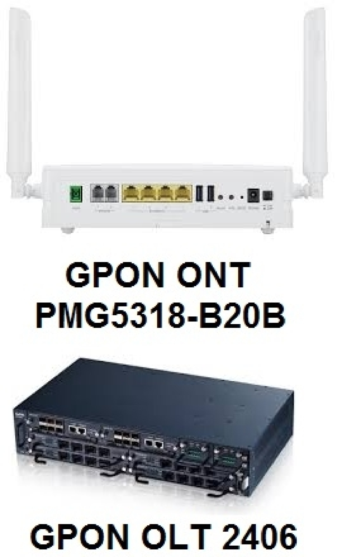 ZyXEL GPON Ultimate solution for high speed