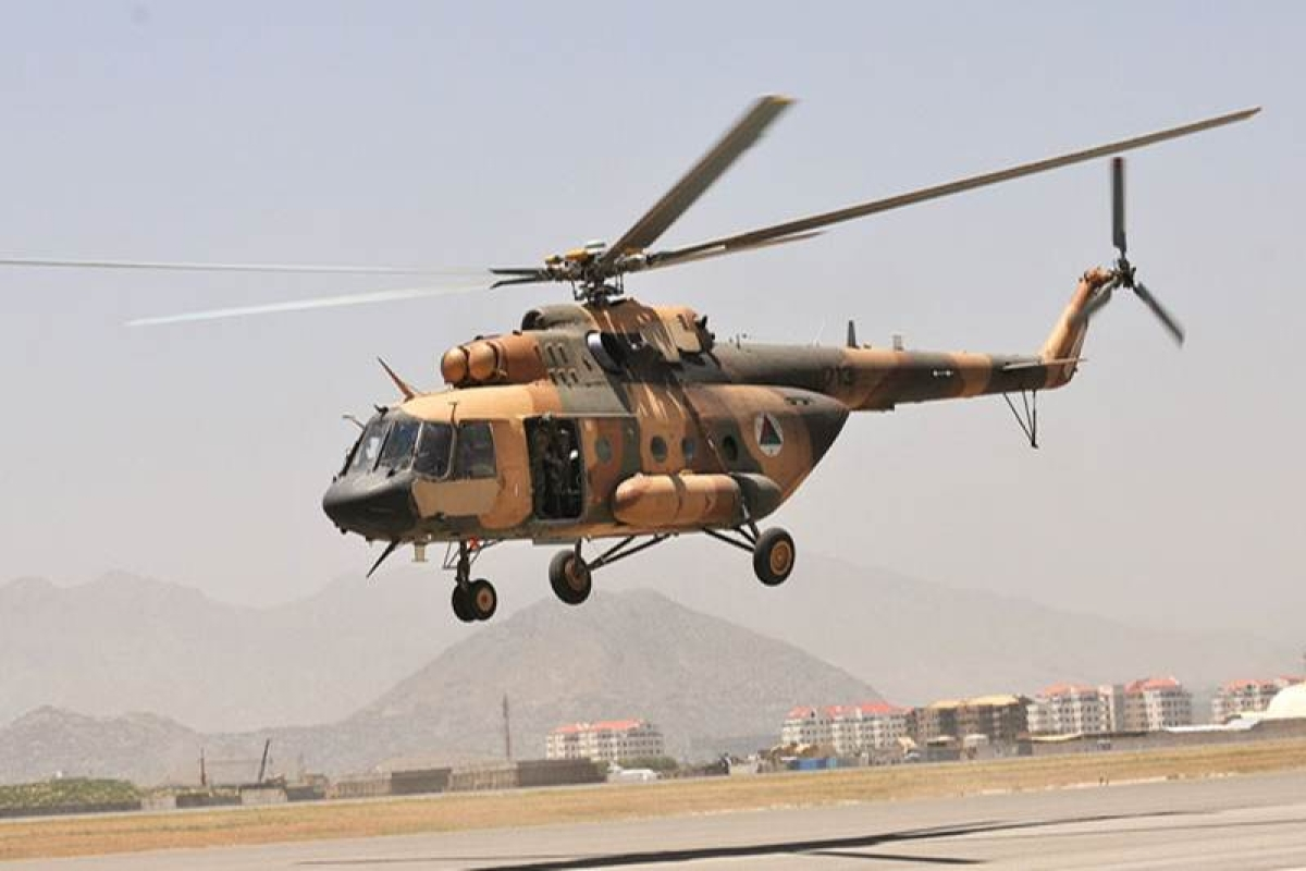 Kabul launches mission to rescue Pakistani crew of chopper