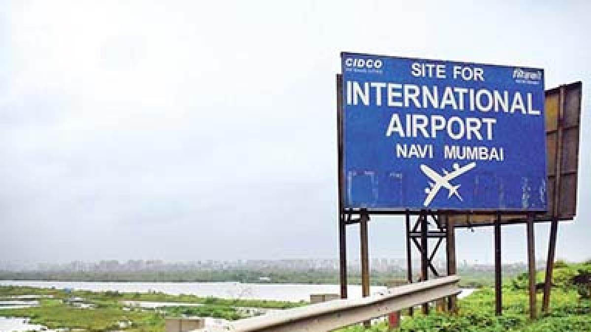 Navi Mumbai Airport site