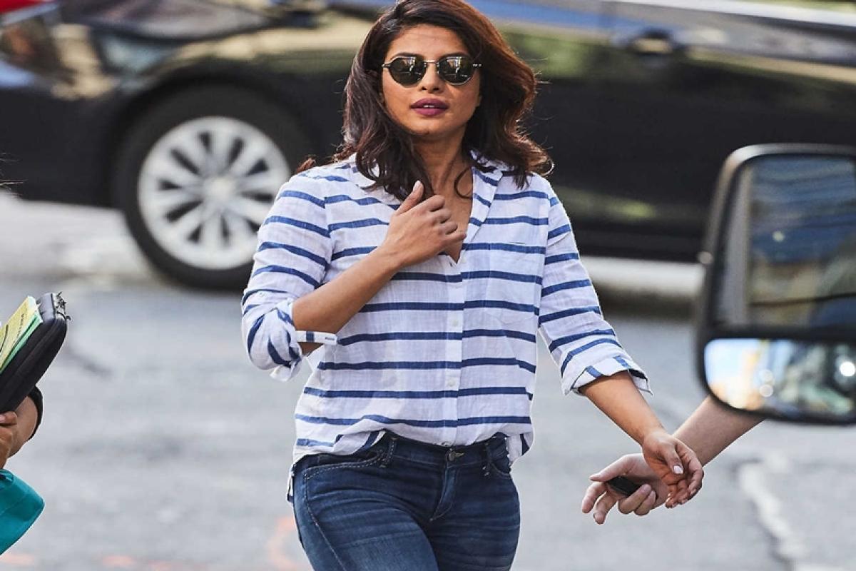 Priyanka Chopra shows her sportsmanship
