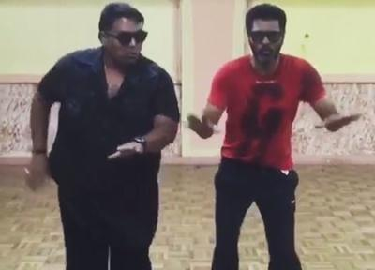 Watch: Prabhu Deva and Ganesh Acharya take 'Beat Pe Booty' challenge