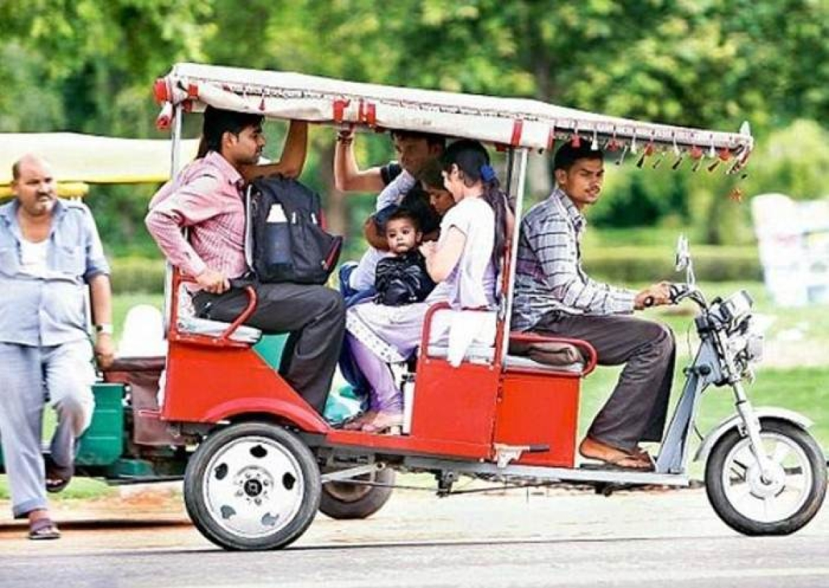 E-carts, e-rickshaws don't need permits: Government