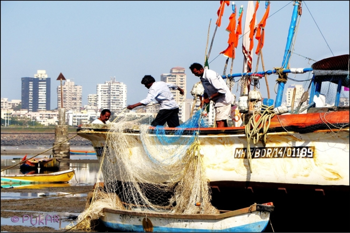 '15 fishermen rescued off Mumbai coast after boats sink'