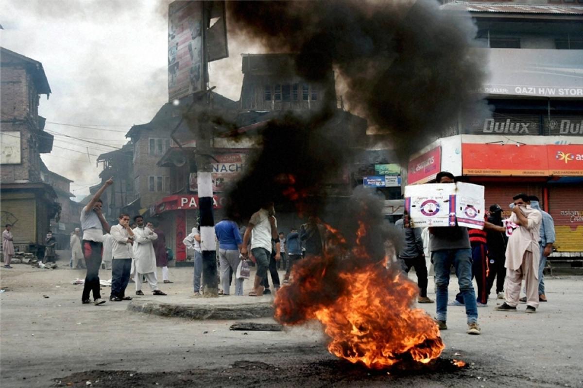 PDP MP's house set ablaze in Kashmir