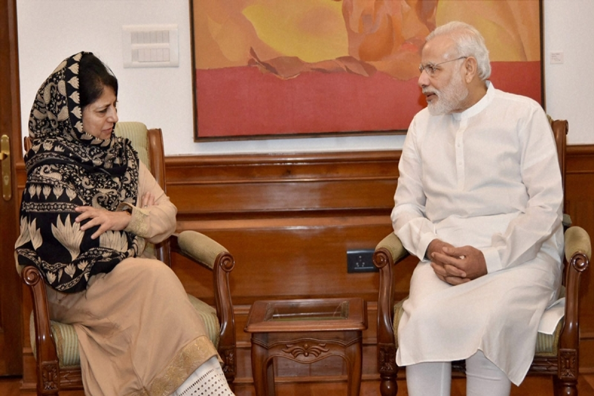 'Will Chinese get domicile rights in J&K by default now?': Mehbooba Mufti on PM Modi's statement over India-China border clash