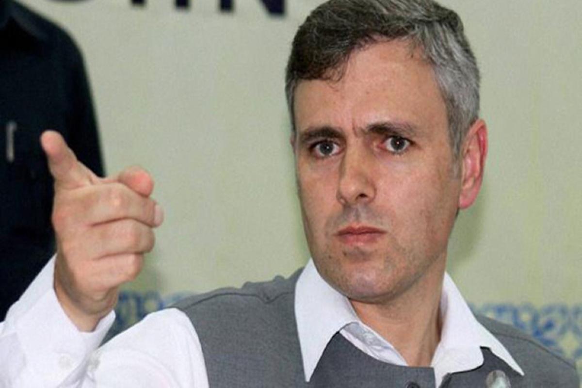 Omar blasts PDP MP for 'insulting' Kashmiris