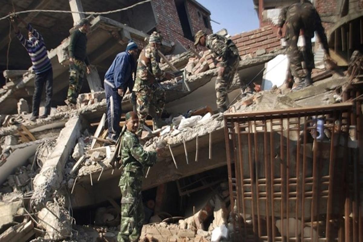 Quake hits northeast India, neighbouring areas