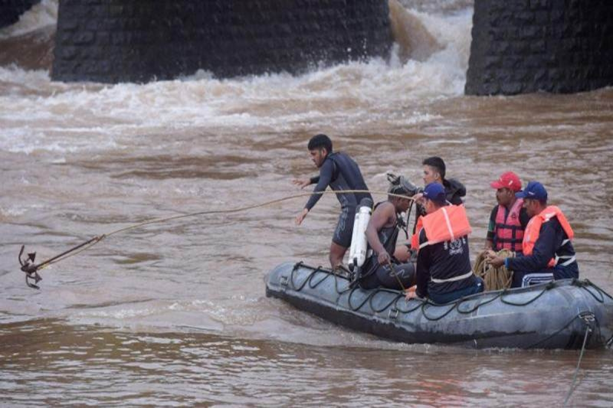 Mahad tragedy: Missing SUV found, 2 bodies feared stuck inside
