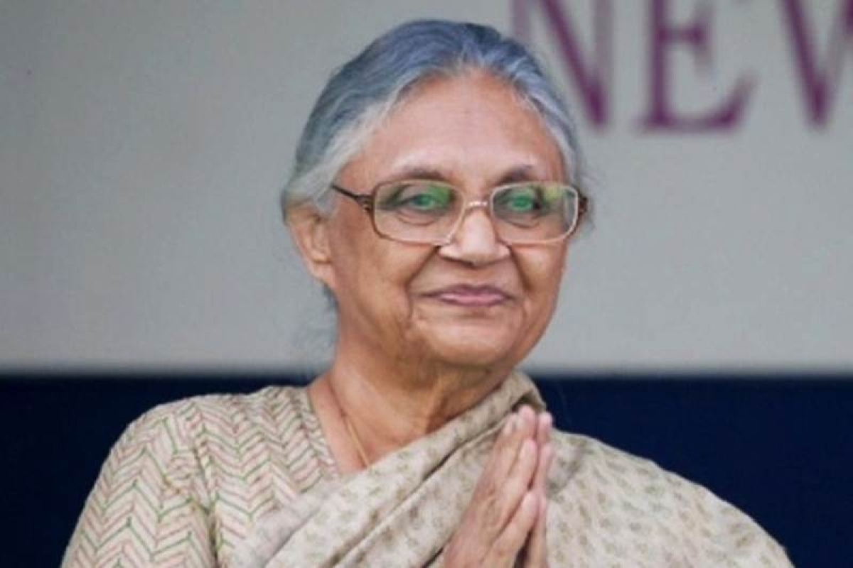 BJP only worships cows, doesn't protect them: Sheila Dikshit