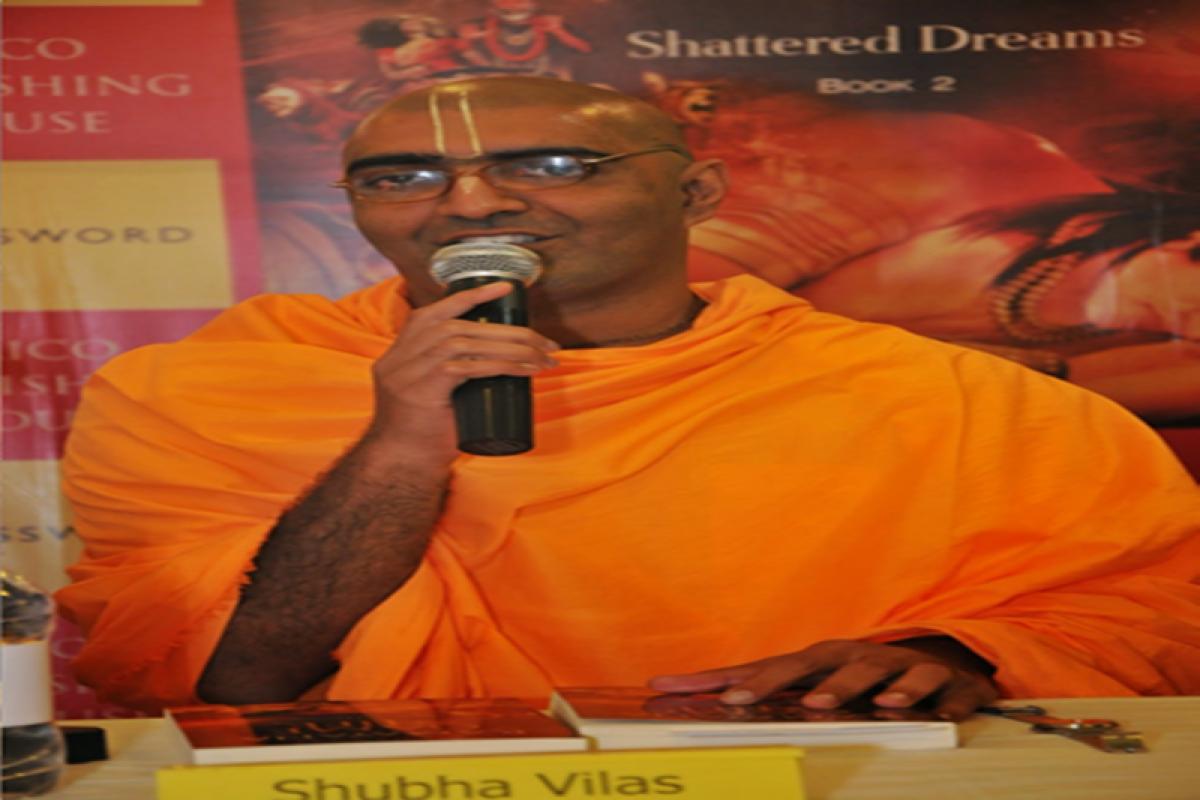 """Yoga is connection between jiva and God""- Shubha Vilas"