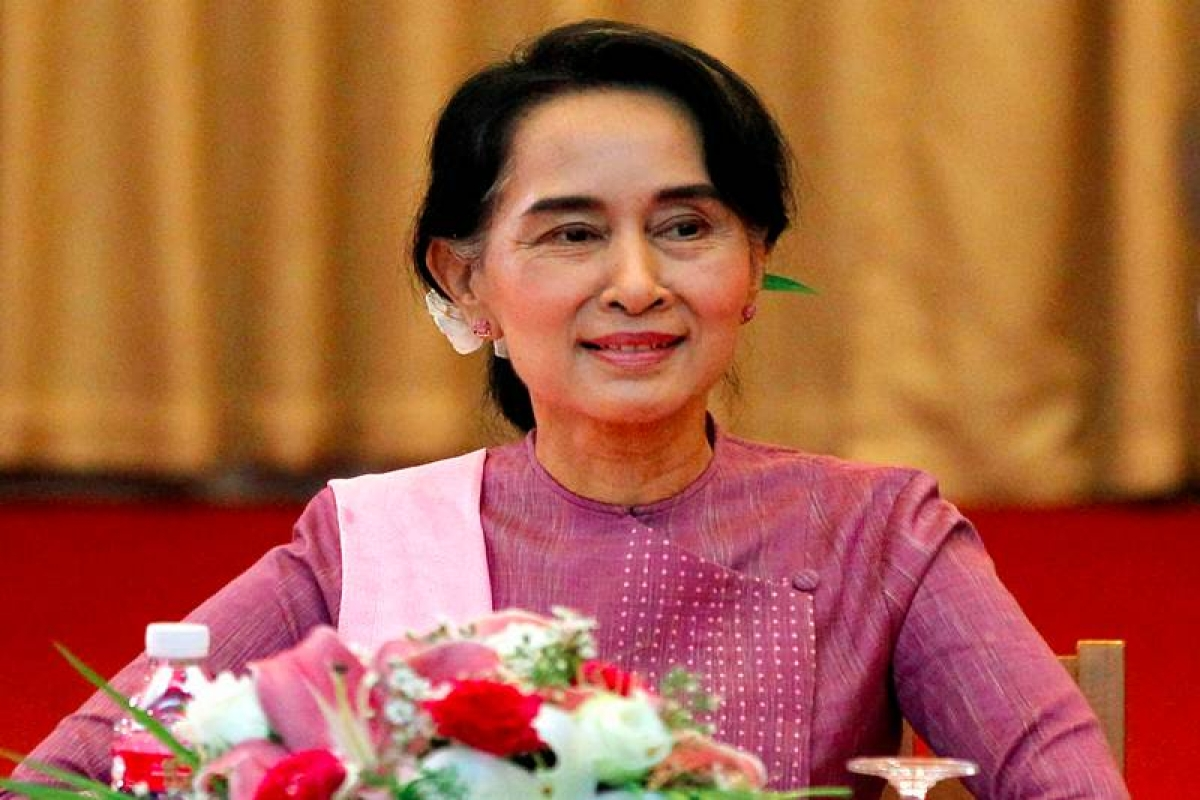 China to accord head of state welcome to Aung San Suu Kyi