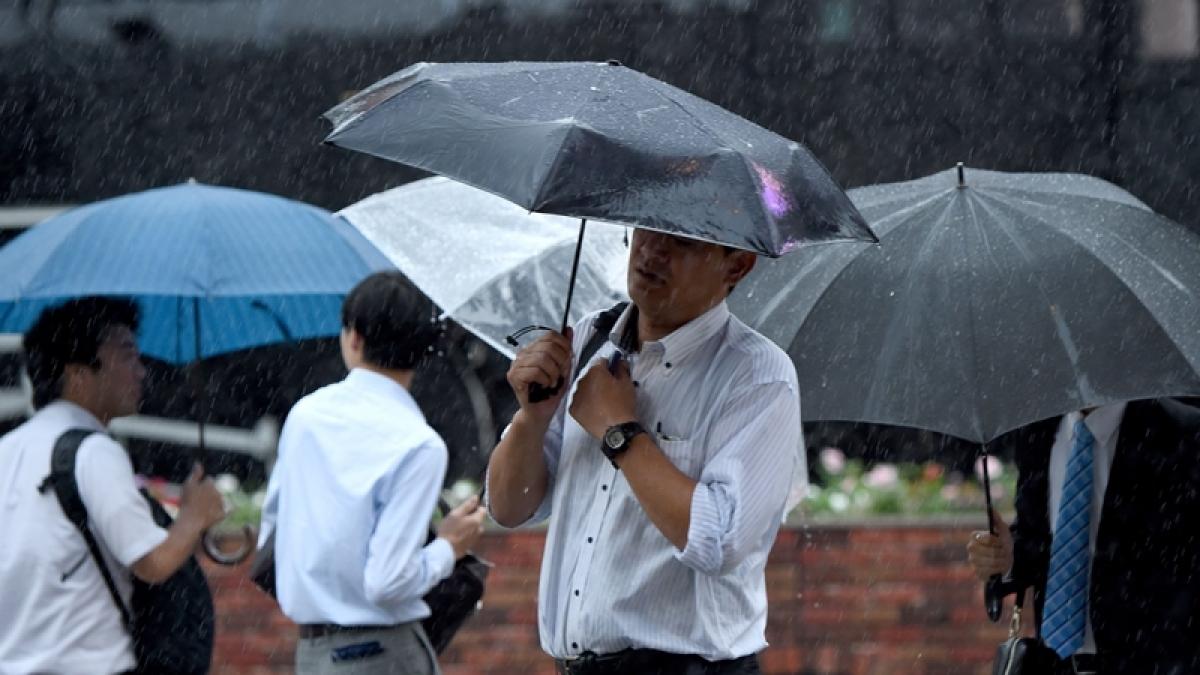 August innings: Heavy rain over next four days
