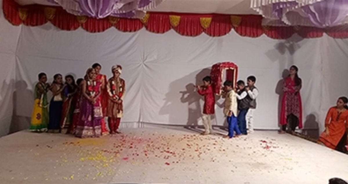 Cherish girl children, says play in pandal