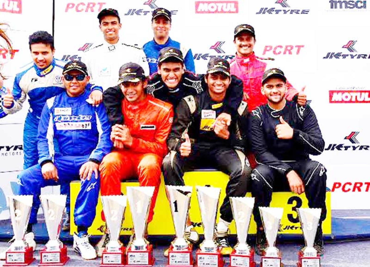Nayan Chatterjee races through in 19th JK Tyre-FMSCI National Racing Championship