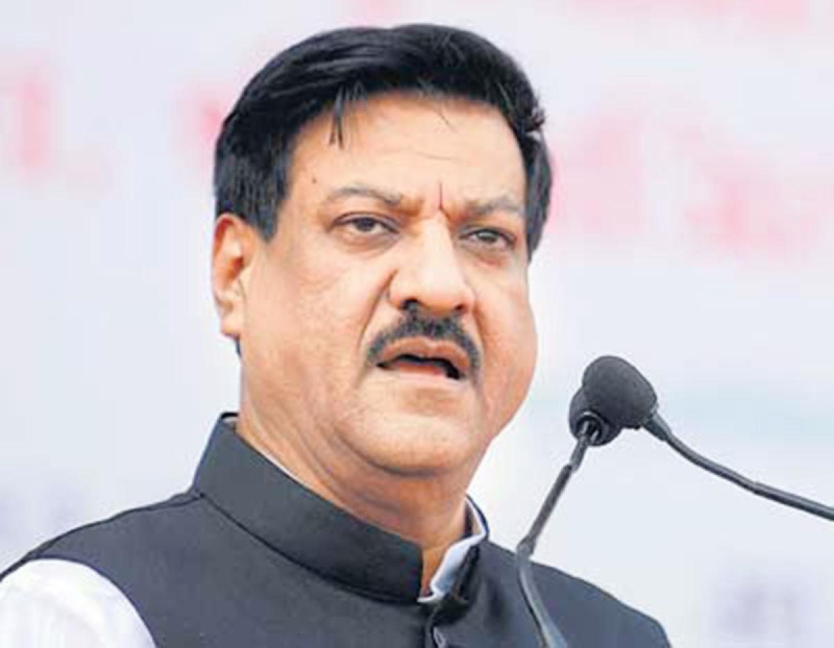 BJP govt diverting Karad-Chiplun rail line funds to bullet train, alleges Prithviraj Chavan