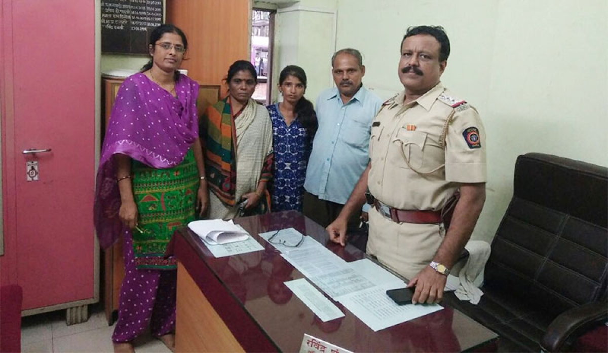 Churchgate GRP unites missing girl with parents