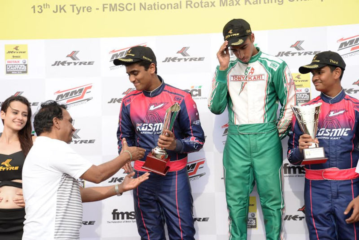 Podium finish for Nayan  Chatterjee brothers